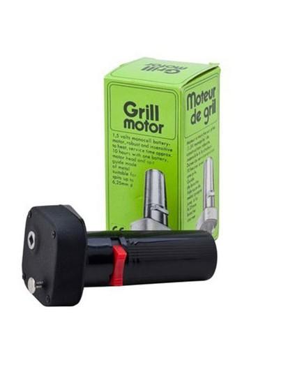 Grill battery motor