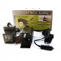 Electric grill motor with car lighter adaptor