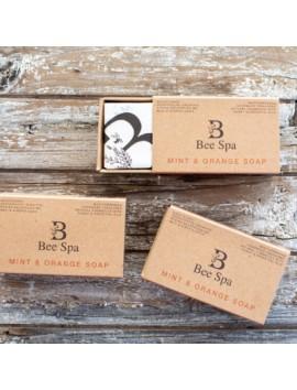 Bee Spa - Mint & Orange Soap-120gr