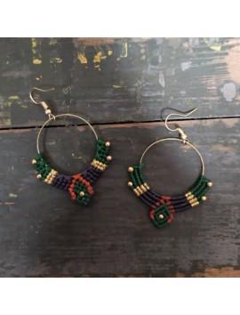 Macrame earrings 2